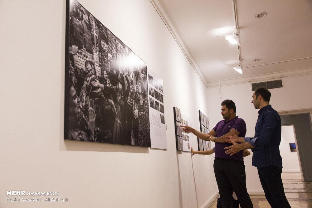 نمایشگاه سومین دوره نشان عکس سال مطبوعاتی ایران