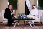 امریکی وزیر خارجہ کی ابو ظہبی کے ولیعہد سے ملاقات