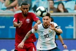 Arjantin ile Katar maçından fotoğraflar