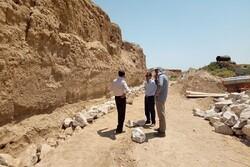 ساخت دیوار حفاظتی در محوطه تاریخی ریوی آغاز شد