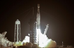 موشک حامل خاکستر انسانها به فضا رفت