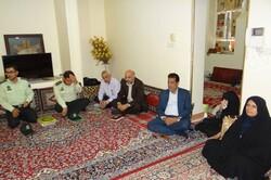 خانواده شهید مبارزه با مواد مخدر تجلیل شد