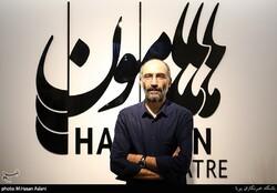 Actor Hadi Hejazifar attends a reopening ceremony at Hamoon Theater in Tehran on June 25, 2019. (Tasnim/M.Hassan Aslani)
