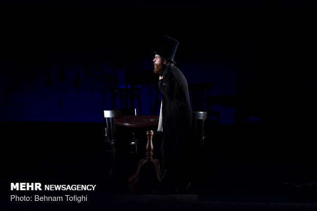 Servati's 'Crime and Punishment' on stage in Tehran