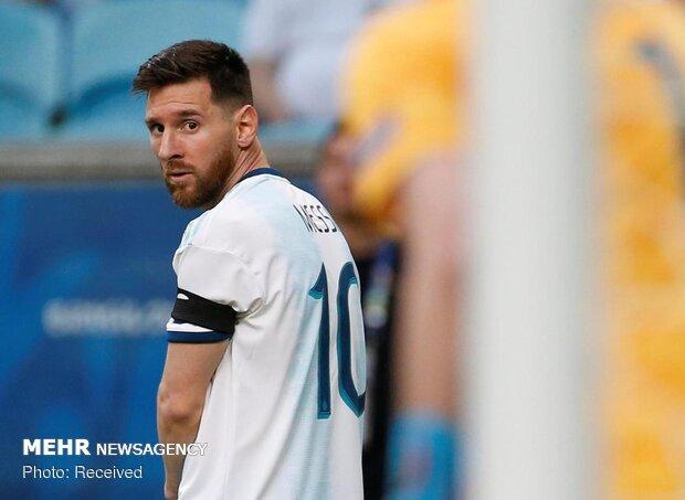 دیدار تیم های ملی فوتبال آرژانتین و قطر