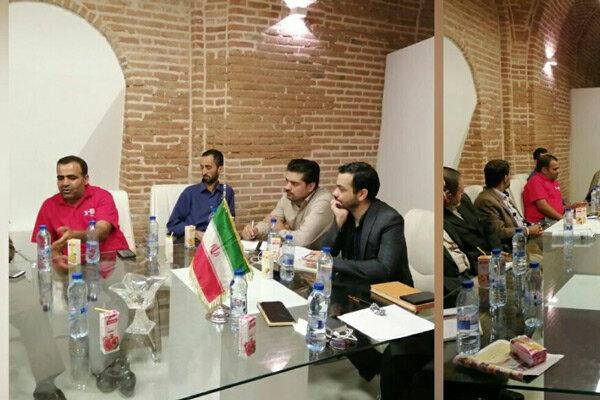 نشست هم اندیشی مدیران رسانه ها با خانه مطبوعات قزوین برگزار شد