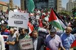 تظاهرة حاشدة رفضًا لمؤتمر البحرين وصفقة القرن في بيروت