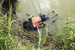 غرق شدن پناهجوی السالوادوری در مرز آمریکا