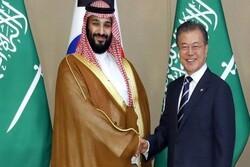 ولیعهد سعودی با رئیس جمهوری کره جنوبی دیدار کرد