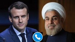 Iran's military will respond firmly if U.S. continues aggression, Rouhani says in phone call with Macron