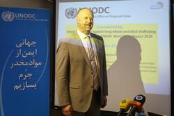 تہران میں اقوام متحدہ کے نمائندے کی صحافیوں سے گفتگو