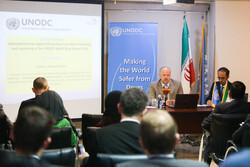 UNODC representative in Iran holds presser