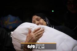 لالایی مادر شهید تازه تفحص شده برای پیکر فرزندش بعد از ۳۱ سال