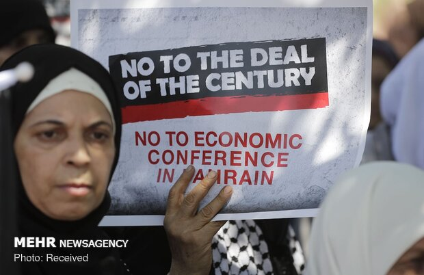 تظاهرات علیه معامله قرن