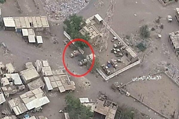 عملیات پهپادی یمنیها علیه مزدوران سعودی در «حجه»