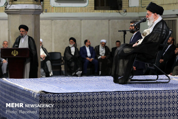 Leader's meeting with Judiciary officials