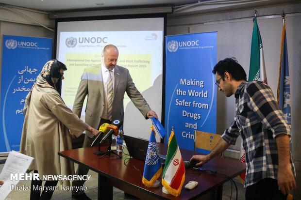 UNODC representative in Iran holds news conference