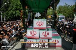 گزارش ویدئویی مهر از تشییع پیکر ۱۵۰ شهید دفاع مقدس