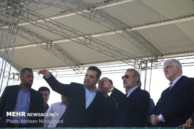 سفر علی لاریجانی رئیس مجلس شورای اسلامی به قم