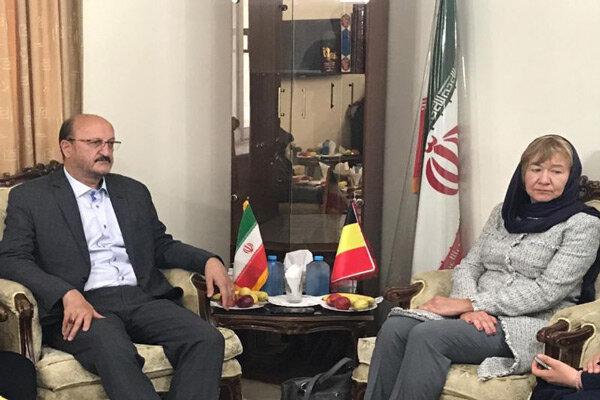 سفیر بلژیک در ایران با استاندار قزوین دیدار کرد