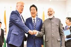 ترامپ، شینزو و مودی درباره ایران گفتگو کردند