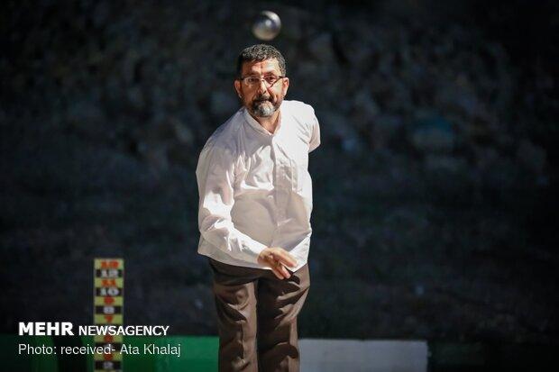 فینال مسابقات پتانک استان سمنان در شاهرود