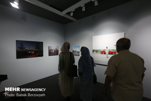2nd Teer Art Art Fair underway in Tehran