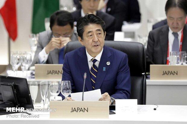 شينزو آبي: اليابان تسعى لتهدئة التوتر في المنطقة