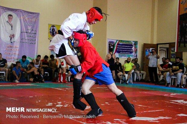 مسابقات سامبو قهرمانی گیلان در رشت