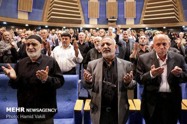 مراسم بزرگداشت شهید بهشتی و شهدای هفتم تیر
