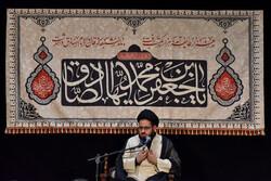 مراسم عزاداری شهادت امام صادق (ع) در امامزاده قاضی الصابر