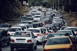 گنجنامہ علاقہ میں بھاری ٹریفک