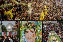 تشییع آلالهها از مشهدالرضا تا نصف جهان؛ ایران دوباره بوی بهشت گرفت
