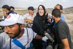 """الجمعة ال64 لمسيرات العودة تحت شعار """"تسقط ورشة البحرين""""/صور"""