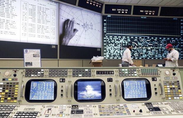مرکز کنترل ماموریت آپولو بازگشایی شد