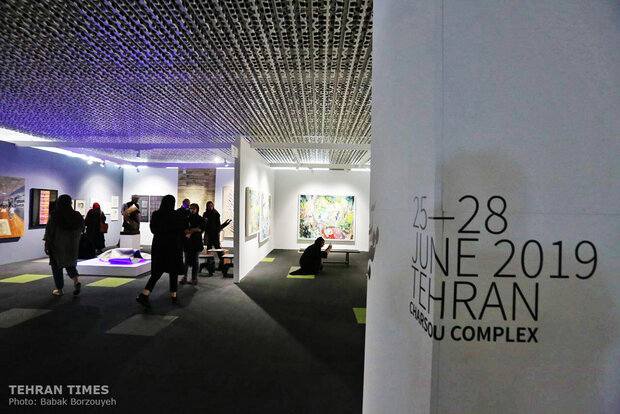 Tehran hosts Teer Art Fair