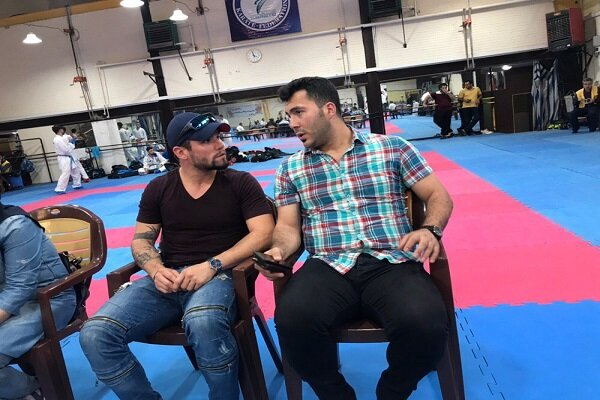 کاراته کایی از شیلی میهمان ویژه مبارزات انتخابی