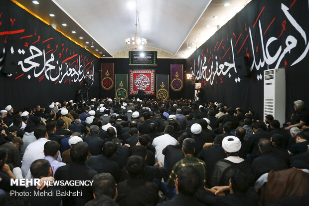 Martyrdom anniversary of Imam Sadiq (AS) marked in Qom prov.