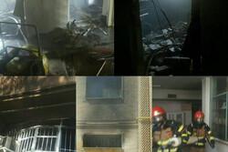 آزمایشگاه دانشگاه علوم پزشکی قزوین دچار حریق شد