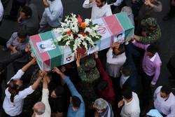 سمنان میں دفاع مقدس کے 3 شہیدوں کی تشییع جنازہ