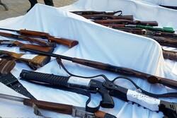 افزایش ۶۴ درصدی کشف سلاح جنگی در استان ایلام