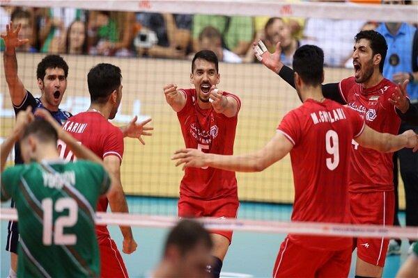 ايران تفوز امام بلغاريا بثلاثية ببطولة العالم للكرة الطائرة