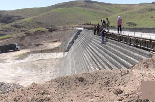 نخستین سیل بند بتن غلطکی آذربایجان شرقی در مرند احداث می شود