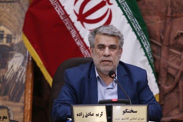 لزوم تدبیر شهرداری تبریز برای تجهیز کامل آتش نشانی