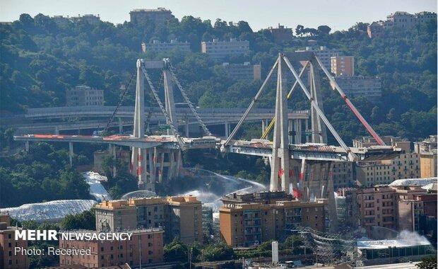 انفجار برنامه ریزی شده پل جنوا