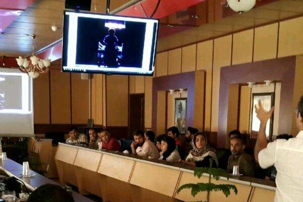 کارگاه آموزشی طراحی نور خلاق بامحدودیت امکانات در یاسوج برگزار شد