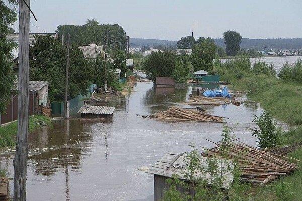 سیل در شمال روسیه ۵ کشته و صدها زخمی برجای گذاشت