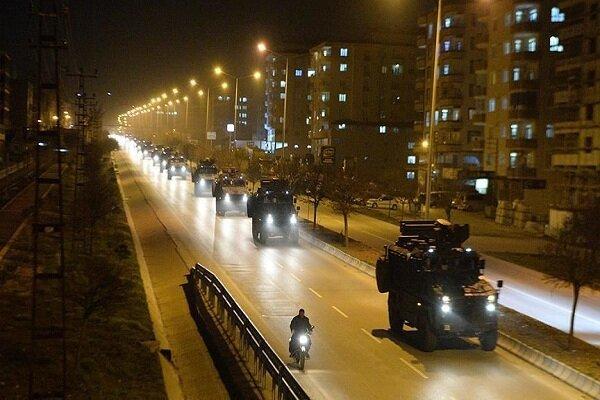 اعزام کماندوهای ترکیه به مرزهای مشترک با سوریه