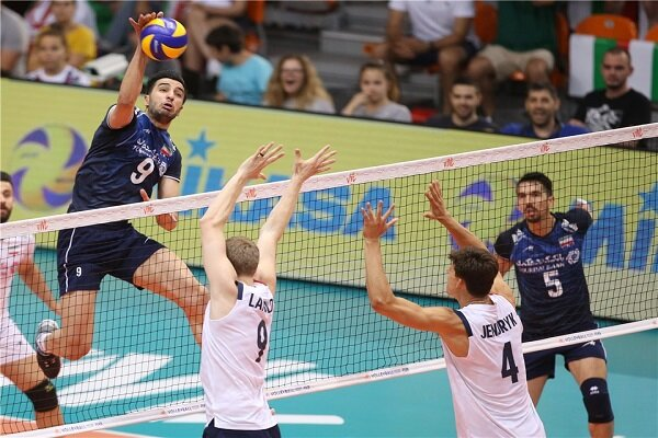 Iran suffers 3-0 loss to US at VNL 2019