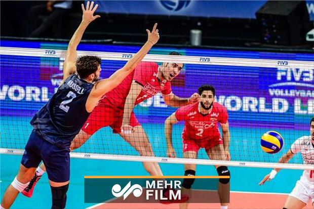 خلاصه والیبال ایران و آمریکا/ یوزها دستشان را رو نکردند